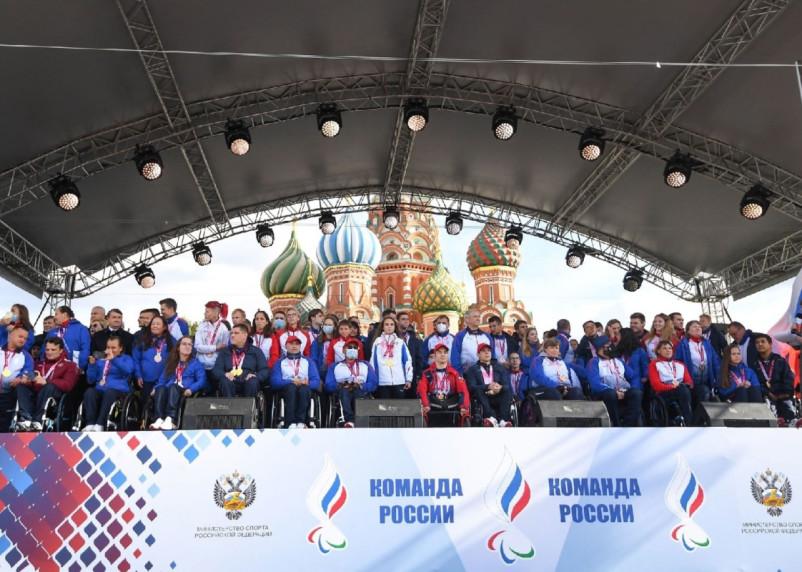 Российские паралимпийцы превзошли рекорд 2012 года