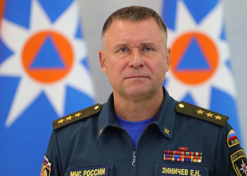 Оператор пытался спасти главу МЧС. Стало известно, что Зиничев погиб на водопаде Китабо-Орон