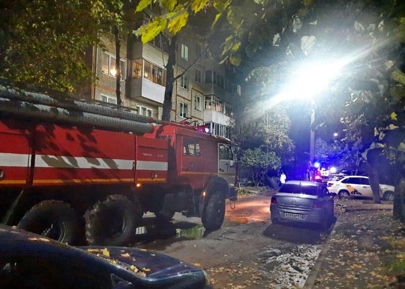 Подробности пожара с пострадавшим в Смоленске