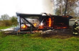 Из-за дистанционных обогревателей произошел серьезный пожар в Гагаринском районе