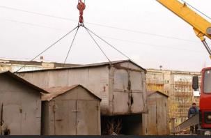 Смолянам дали время на демонтаж самовольно установленных гаражей