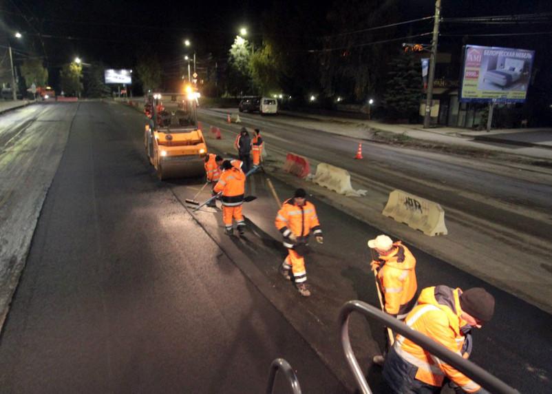 Как ведут ремонт улицы Нормандия-Неман в Смоленске?