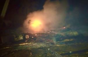 Мужчина сгорел в доме. Подробности пожара в Ярцевском районе
