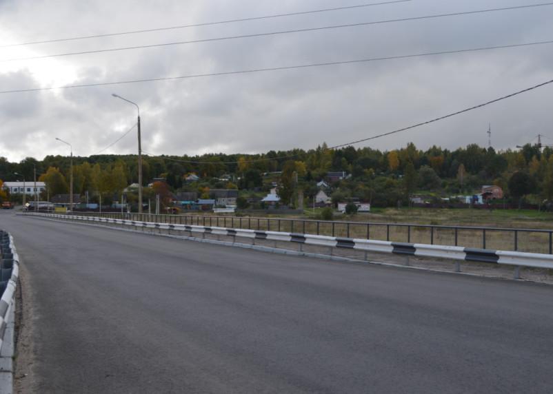 В Смоленской области завершается ремонт дороги «Обход г. Дорогобуж»