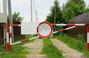 В Смоленской области дачников обязали снести самовольно возведенный шлагбаум