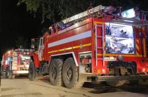 В Смоленске ликвидировали горение постельных принадлежностей
