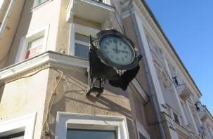 В Смоленске на Большой Советской вновь заработали часы