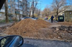 Жителей улицы Шевченко оставили с «тяжелым наследством» экс-председателя Смоленского горсовета