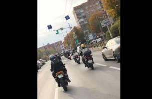 В Смоленске прошло закрытие мотосезона