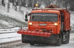 Дороги в Смоленске продолжат обрабатывать пескосоляной смесью