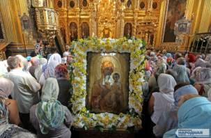 В Смоленске состоялся праздник Смоленской «Одигитрии»