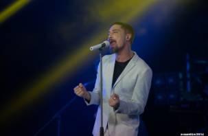«Я певец любви»: Дима Билан подарил свои чувства смолянам