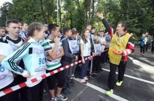 В Смоленске состоялся «Кросс нации» : фоторепортаж