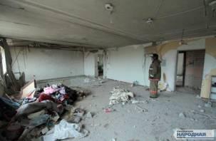 Предполагаемый виновник взрыва газа в Пригорском находится в тяжелом состоянии