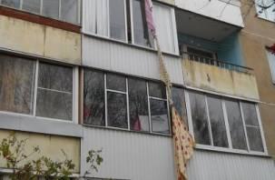Смолянка сорвалась с балкона, пытаясь спуститься по простыням
