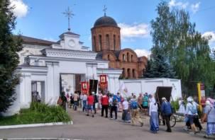 В Смоленске прошел Одигитриевский крестный ход