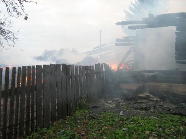 пожар в сычевке 2
