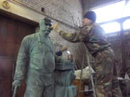 3 - покрытие скульптуры воском