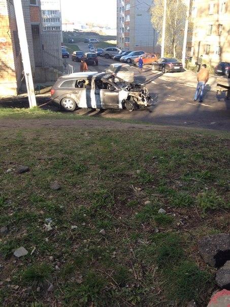 сгоревшие машины 2