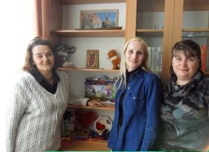 (слева-направо) Т.А. Паршакова-Шалыгина, Л.Г. Левитан, И.Н. Лазарева.  (2)