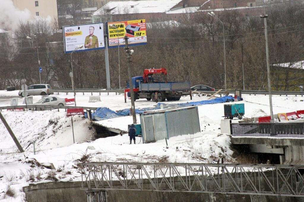 ремонту моста в Смоленске