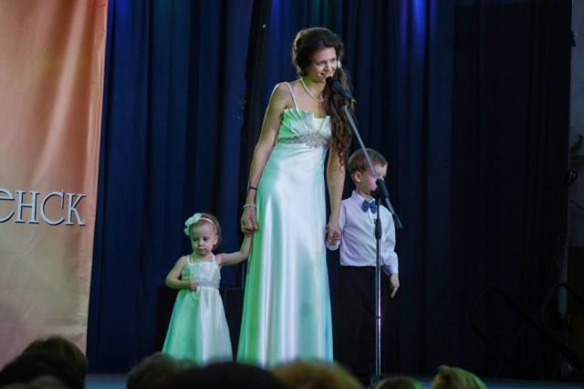 """конкурсантка """"Миссис Смоленск 2014"""""""