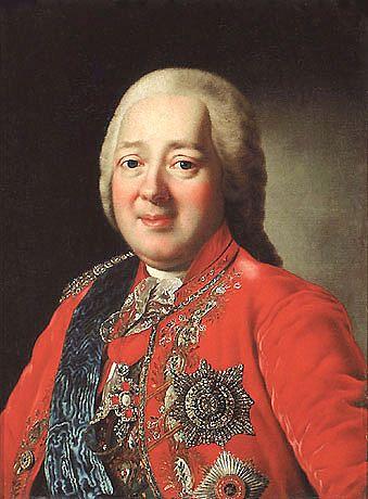 Граф Никита Иванович Панин (1718-1783)- первый владелец усадьбы Дугино.