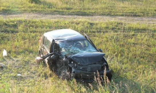ВЕршичском районе 24-летний шофёр пострадал вДТП