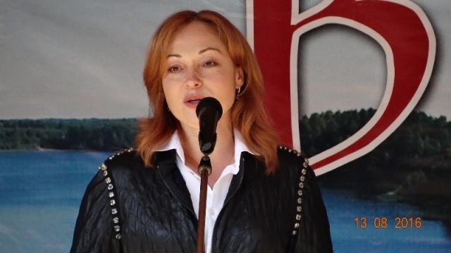 Праздник вПржевальском посетила артистка Виктория Тарасова