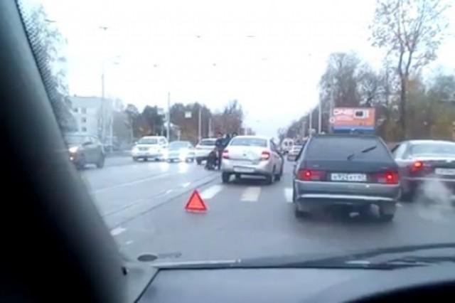 ВСмоленске вутренней спешке сбили пешехода