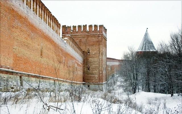 ВСмоленске отреставрируют часть крепостной стены