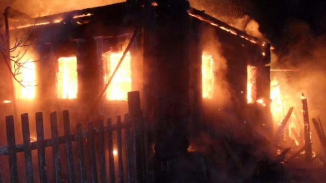 ВВяземском районе сгорел дом