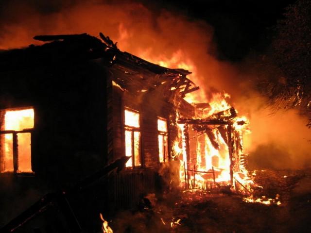 Впроцессе пожара вХолм-Жирковском районе мог сгореть 68-летний мужчина