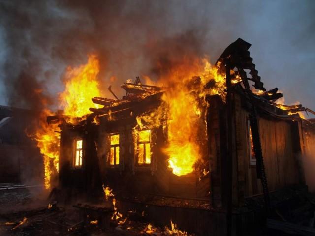 ВРославльском районе сгорело два дома