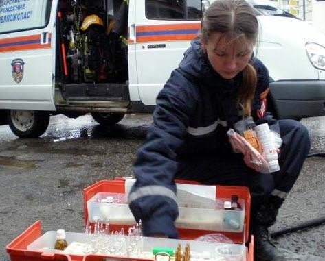ВСмоленске при пожаре два человека обгорели и18 эвакуированы