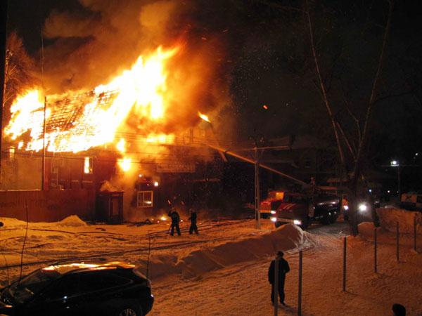 ВРославле впожаре погибли люди