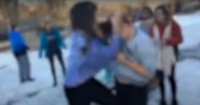 Смоленские школьники транслировали в«Перископ» видео о потасовке 2-х девушек