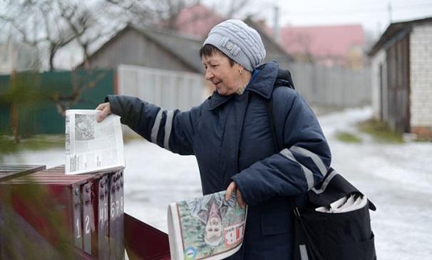 ОТР: средняя заработная плата почтальона вСаратовской области— 6,8 тысячи