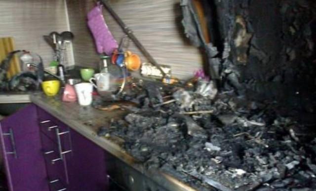 ВСмоленском районе вспыхнул пожар вквартире