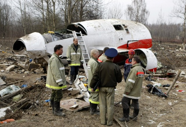 ВПольше было найдено семь мертвецов вмогиле погибшего под Смоленском