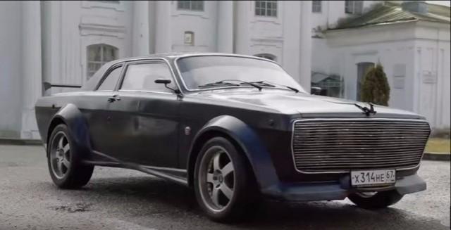 Гражданин Вязьмы создал неповторимый автомобиль из«Волги» и БМВ