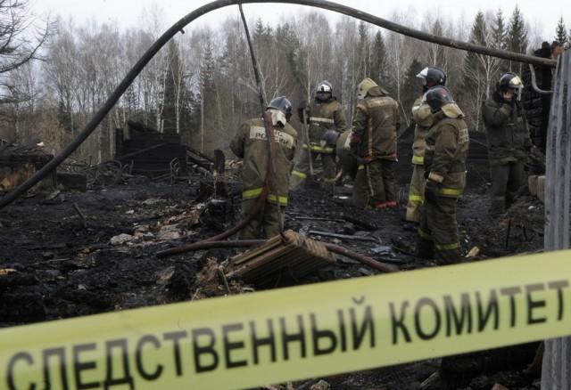 Смолянин сгорел вхозяйственной постройке