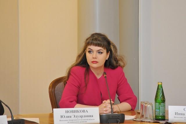 Экс-начальника департамента посоцразвитию Смоленской области обвиняют вовзяточничестве