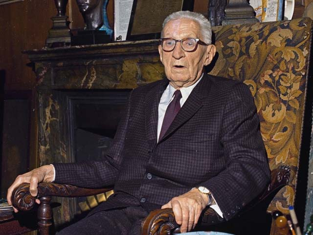 Александр Федорович Керенский в США. 1969 год. Фото: AP