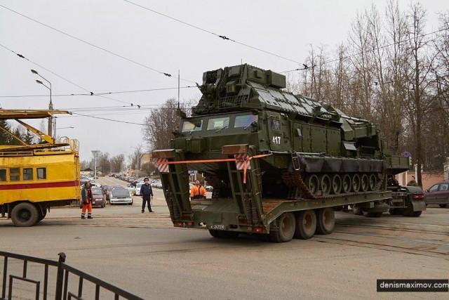 ВСмоленске прервут движение трамваев из-за перемещения военной техники