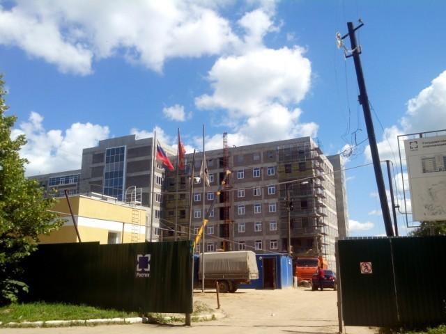 В «Ростехе» назвали причину задержки возведения  перинатального центра вСмоленске