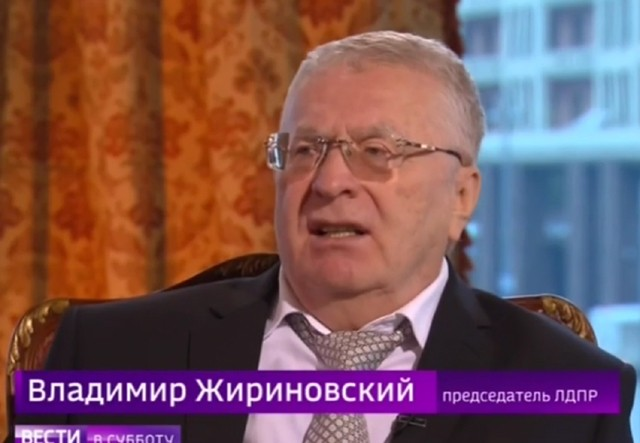 Жириновский, вслучае его избрания президентом, готов взять впремьеры смоленского губернатора