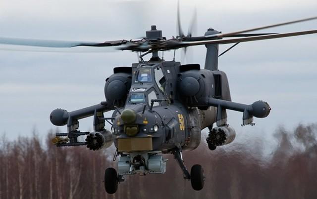 Авиаполк ЗВО получил ударный вертолёт Ми-28Н «Ночной охотник»
