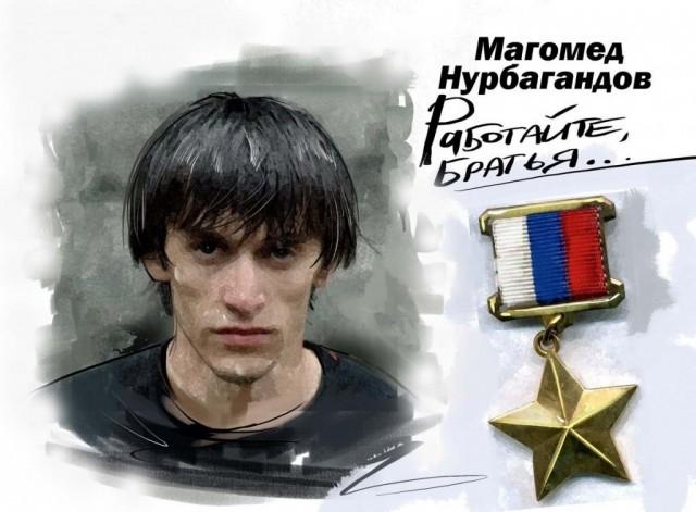 ВСмоленской области возникла аллея памяти Героя Российской Федерации Магомеда Нурбагандова