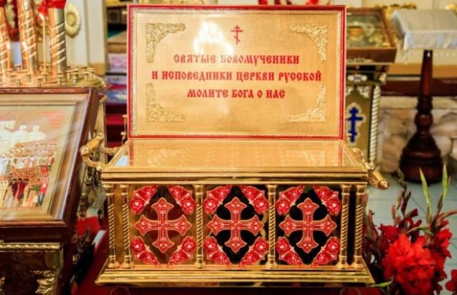 ВНоябрьск доставили мощи новомучеников. Поклониться имможно до23:00